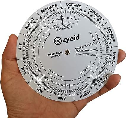 Pregnancy calculator wheel