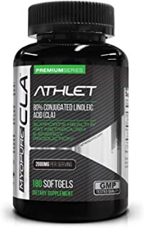Myo-Pure CLA 2000 mg 180 Softgels - Weight | Lean Muscle | Energy | Endurance | Conjugated Linoleic Acid