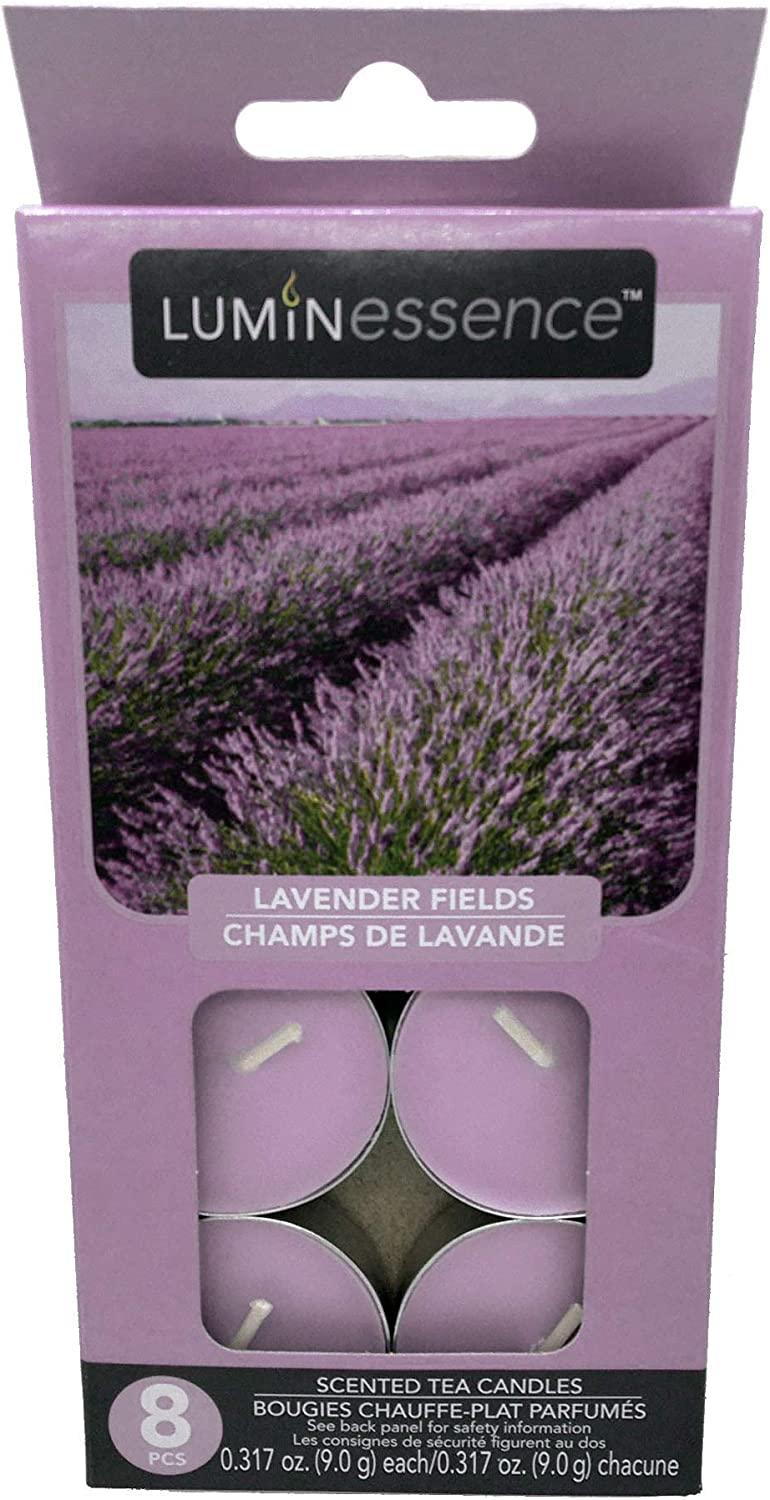 Luminessence Lavender Fields Sale special price Tea Lights 16 Classic Candle