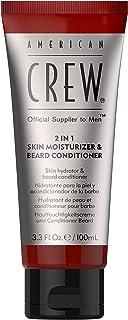 American Crew 2-In-1 Skin Moisturizer and Beard Conditioner for Men 3.3 oz Conditioner, 100 ml