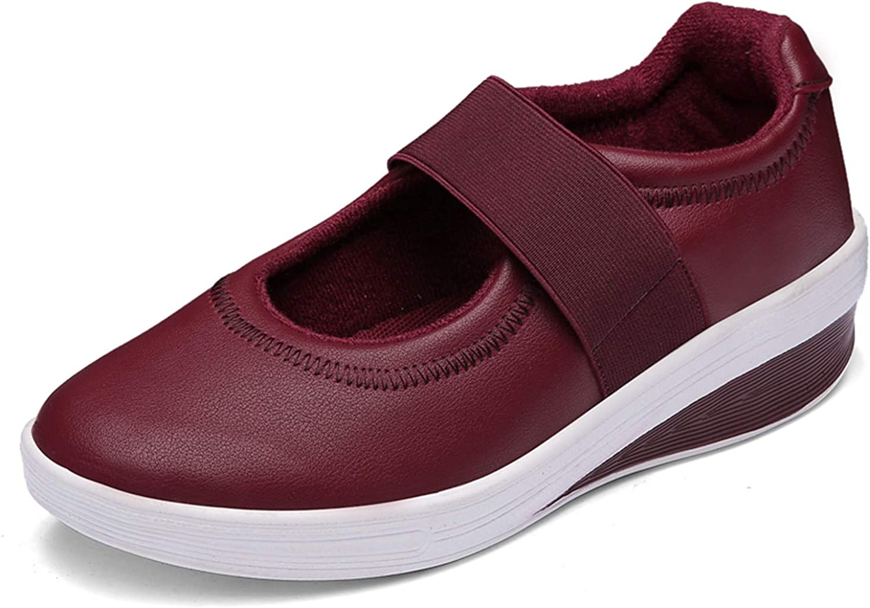 YLX0518 Womens Nurse Medical Working shoes Outdoor Hook&Loop Walking shoes Casual Lightweights Sneakers