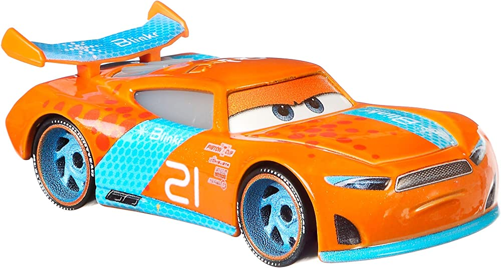 Mattel, cars 3 ryan laney veicolo die cast FGD66