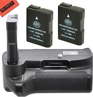 MB-D10 Xit XTNG5100 Pro Series Battery Power Grip for The Nikon D5100//D5200//D5300 Digital SLR Cameras-Black