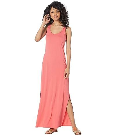 Michael Stars Cotton Modal Isabelle Sleeveless Neck Maxi Dress (Pink Grapefruit) Women
