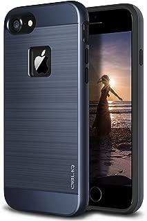 Obliq iPhone 8 Case/iPhone 7 Case, [Slim Meta][Military Grade Certified] Slim Metallic Brushed Premium Design Dual Layer Protection for Apple iPhone 8 (2017)(Navy Blue)