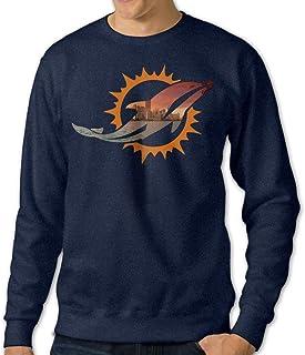 gifts Hombres de Miami deporte fútbol Logo cuello redondo Jersey azul marino