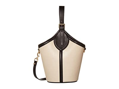Rebecca Minkoff Pippa Top-Handle (Tahini) Handbags