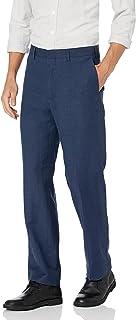 Cubavera mens Flat Front Linen Blend Dress Pant Casual Pants