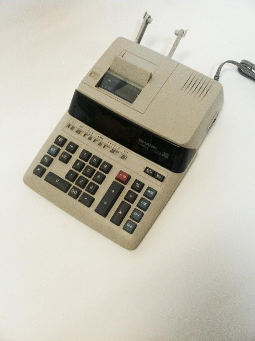 多年生精査する相反するシャープCompet vx-2652?12桁2色リボン印刷電卓