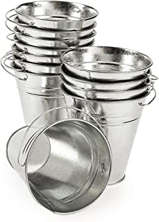 Fun Express OTC_12 Large Galvanized Buckets
