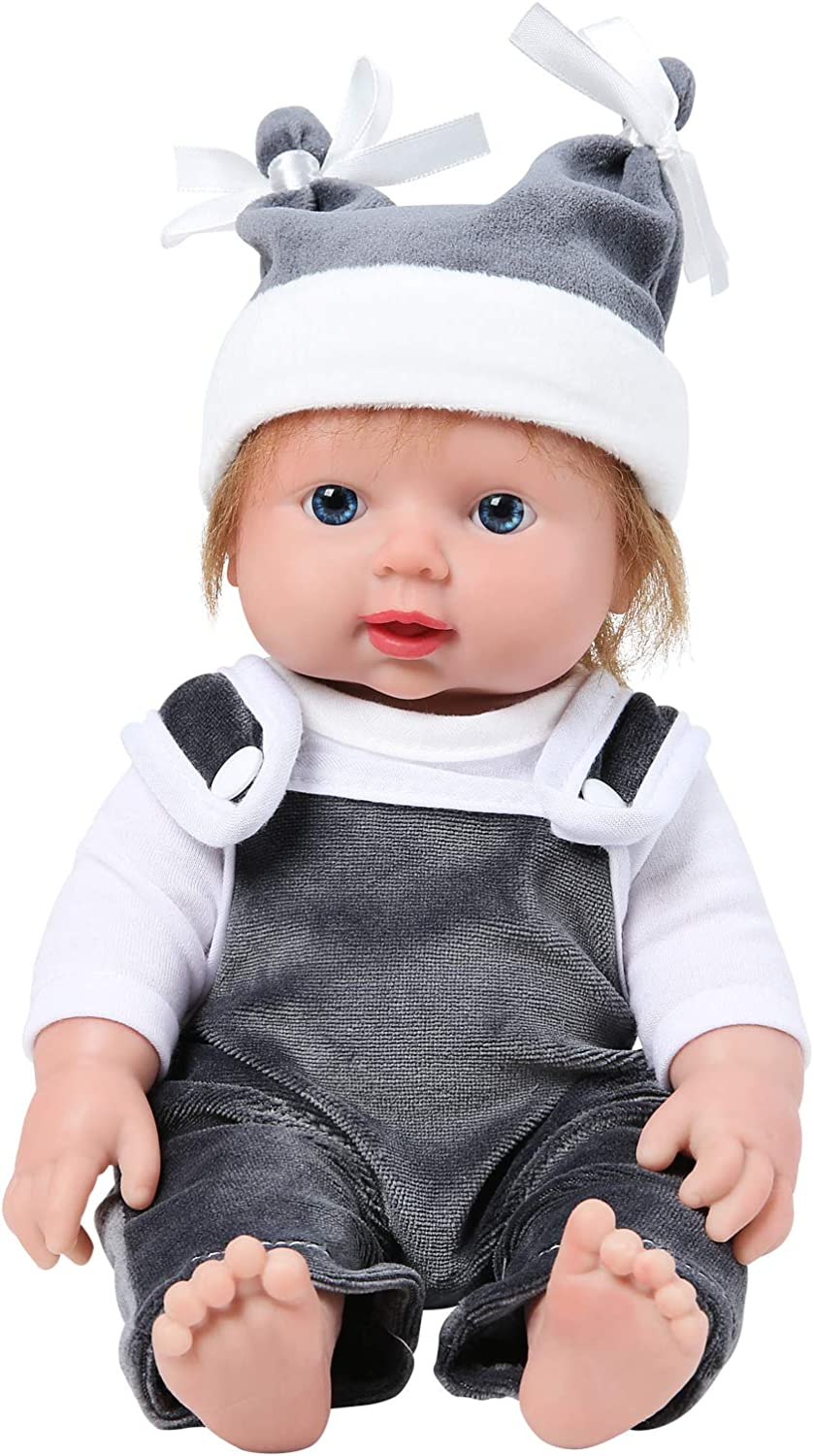 IVITA Silicone Baby Dolls Super intense Phoenix Mall SALE with Rea Material Vinyl Hair Not
