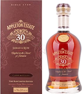 Appleton Estate 30 Years Old Jamaica Rum Very Rare Limited Edition 45,00% 0,70 Liter
