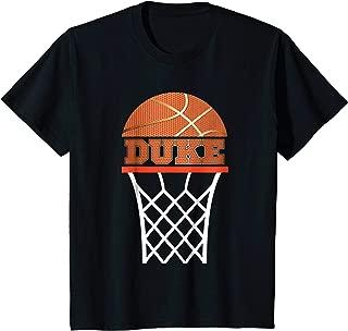Kids Basketball Apparel | Custom Name Duke Youth Graphic T Shirt