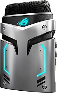ASUS ROG Strix Magnus USB 3.0 Portable Gaming Condenser Microphone with Cardioid/Stereo/ENC and Aura Sync - 889349592625