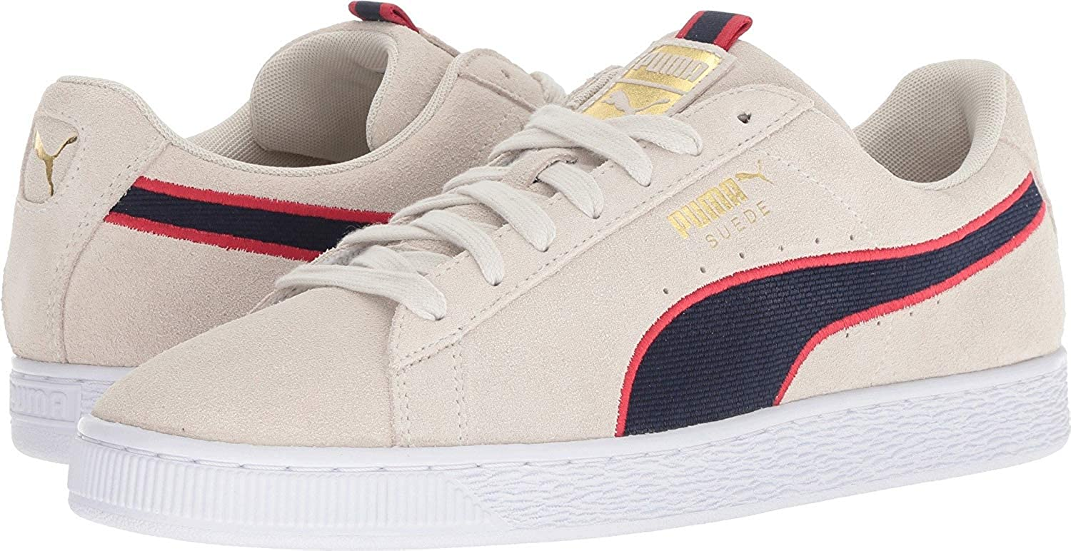 Puma - Mens Suede Classic Sport Stripes shoes
