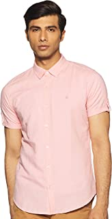 United Colors of Benetton Men's Plain Slim fit Casual Shirt