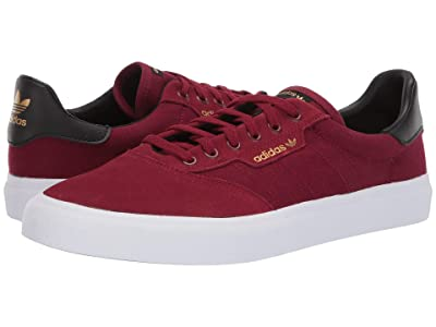 adidas Skateboarding 3MC (Collegiate Burgundy/Core Black/Gold Metallic) Men