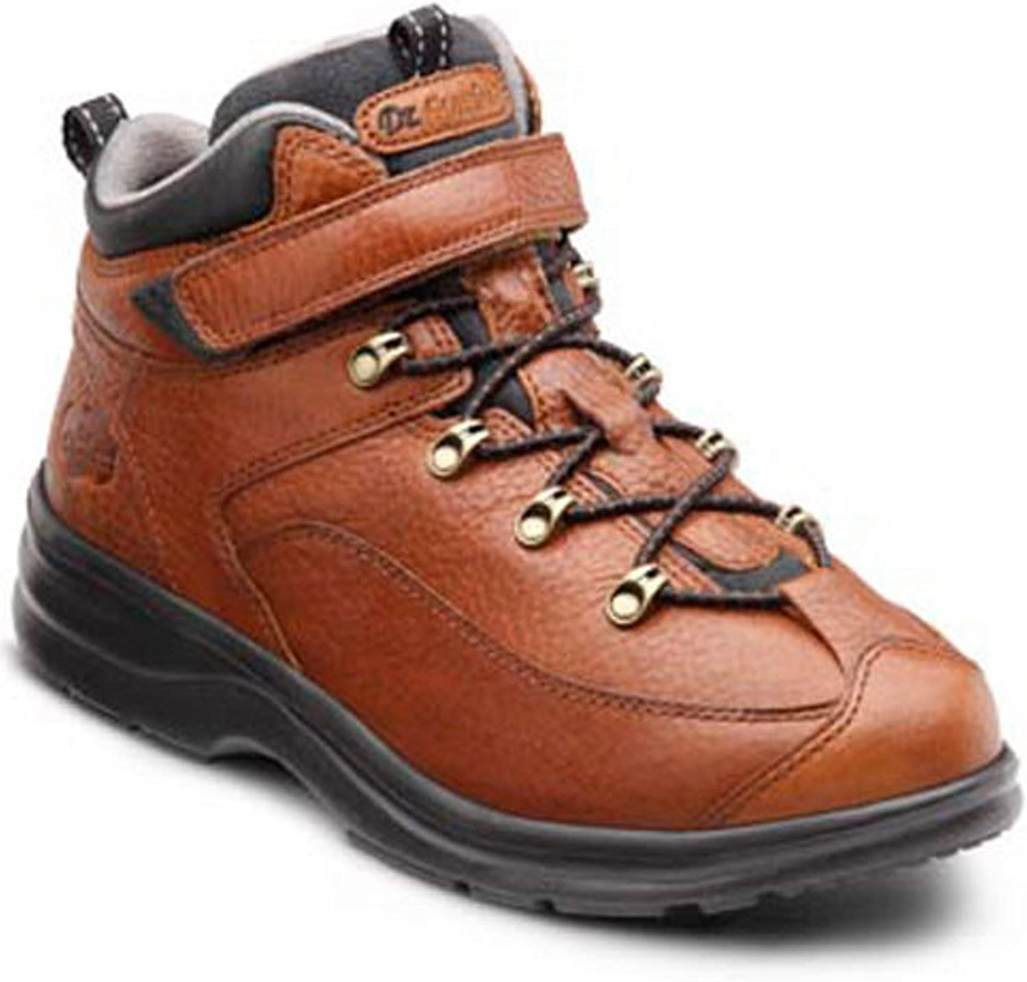 Dr. Comfort Vigor Women's Therapeutic Diabetic Extra Depth Hiking Boot Leather Lace Black