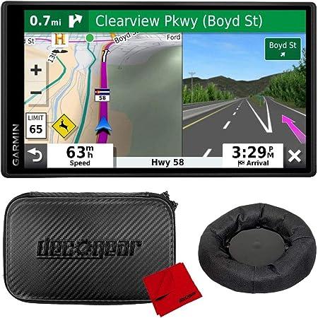 "Garmin DriveSmart 55 & Traffic 5.5"" Display GPS Navigator with Case and Mount Bundle"
