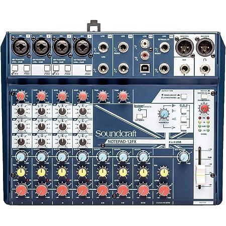 Soundcraft Notepad-12FX ミキサー
