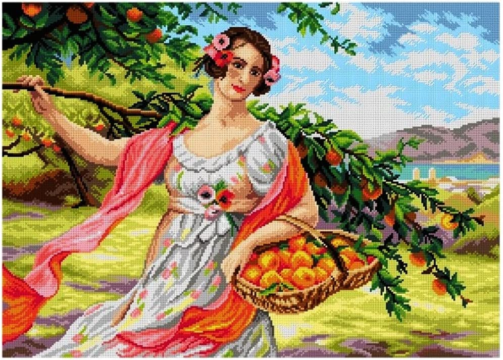 Printed Cheap SALE Start Canvas for Max 62% OFF Tapestry Needlepoint Orchi Gobelin Embroidery