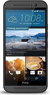 HTC ONE M9 32GB Unlocked GSM 20MP Camera Smartphone, Gunmetal Grey (Renewed)
