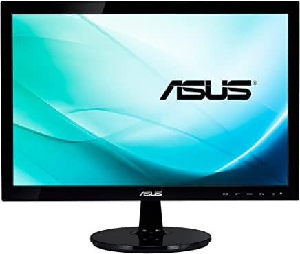 """Asus VS197DE Monitor da 18.5""""/47.0 cm, Widescreen, 16:9, WLED/TN, 1366x768, VGA, 200 cd/mq, Nero/Antracite - Confronta prezzi"""