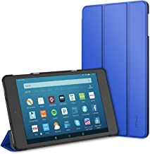 JETech Case for All-New Amazon Fire HD 8 Tablet (8th / 7th / 6th Generation - 2018, 2017 and 2016 Release) Smart Cover with Auto Sleep/Wake (Blue)