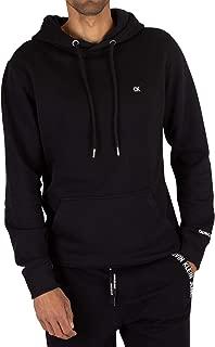 Calvin Klein Jeans Men's Badge Pullover Hoodie, Black