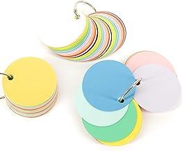 他の受験生には教えたくない 色で覚える単語帳 単語カード 小 5cm丸形 20色アソート 60枚 3冊セット