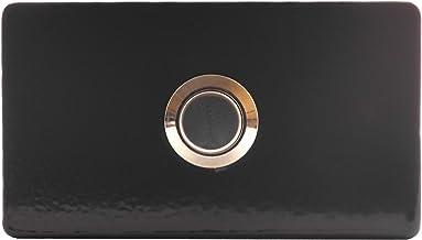 JUEYAN Bouton de sonnette de porte en acier inoxydable /Ø 16 mm Bouton de sonnette