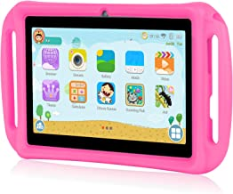 $42 Get Xgody T702 7 Inch Android Kids Tablet PC for Kids Quad Core Android 8.1 1GB RAM 16GB ROM Touch Screen with WiFi Pre-Loaded 3D Game Dual Camera Pink