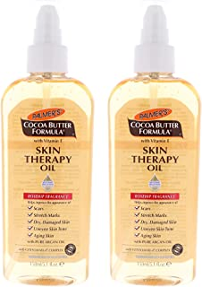Palmers Cocoa Butter Skin Therapy Oil Oil, Unisex 5.1 oz (2- Pack)