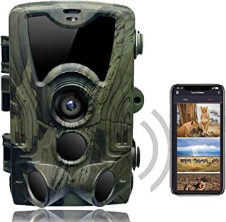 comprar comparacion SUNTEKCAM Cámara de Caza WiFi 24MP 1080P Trail Game Cámara con visión Nocturna activada por Movimiento para Explorar, Cáma...