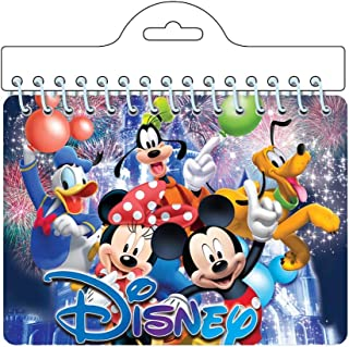 Disney Mickey & Minnie Mouse along with Pluto Goofy & Donald Duck 'Friends' Autograph Notebook