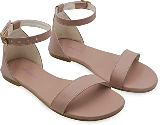 PINKTOES Napa Flats Sandals For Women And Girls