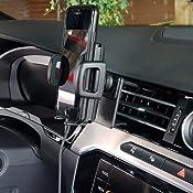 Brodit Proclip Fahrzeughalter 855413 Made In Sweden Mittelbefestigung Für Linkslenkende Fahrzeuge Passt Gerätehalter Auto