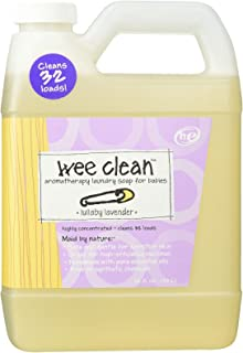 Indigo Wild, Wee Clean, Aromatherapy Laundry Soap for Babies, Lullaby Lavender, 32 fl oz (.94 L)