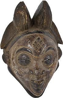 Punu Maiden Spirit Mask Mukudji Gabon African Art