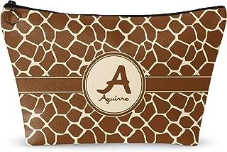Giraffe Print Makeup Bag - Large - 12.5