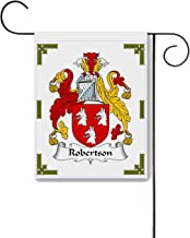 Carpe Diem Designs Robertson Coat of Arms/Robertson Family Crest 11 X 15 Garden Flag – Made in The U.S.A.