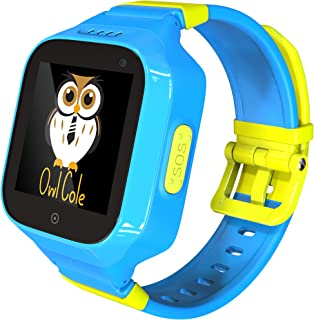3G GPS Tracker Best Waterproof Wrist Smart Phone Watch for Kids with Sim Slot Camera Anti Lost Fitness Tracker Birthday Holiday for Children Boys iPhone Android Smartphone