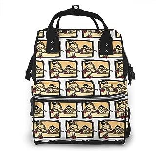 Chickadees Multi-Function Travel Backpack Nappy Bag,Fashion Mummy Bag