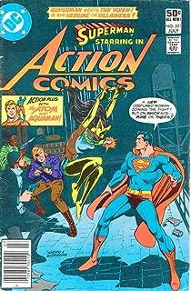 Action Comics #521 (Newsstand) VF/NM ; DC comic book