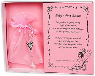 infant rosary bracelet