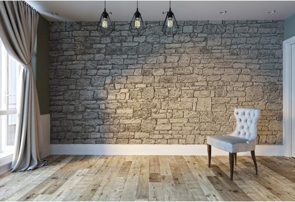 Leyiyi 8x6.5ft Indoor Max 43% OFF Room Backdrop Floo Walls Grey Max 61% OFF Wooden Brick