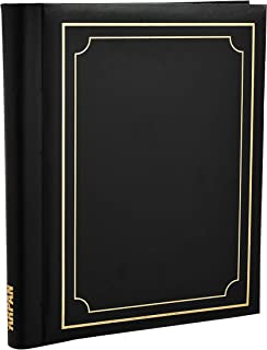 Arpan BLACK Large Deluxe Self Adhesive Photo Album Holds 10.