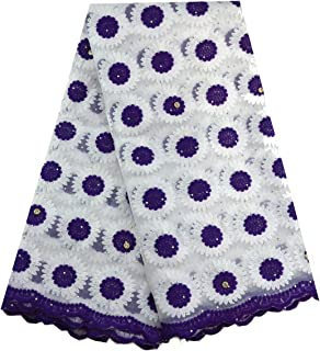 Best diamond embroidered fabric Reviews