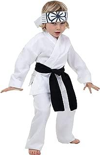 Toddler Daniel San Costume 4T White