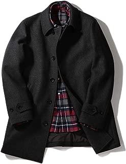 [シップス] コート メルトン スーパー140'S シングル ロング ピーコート ウール 114450087